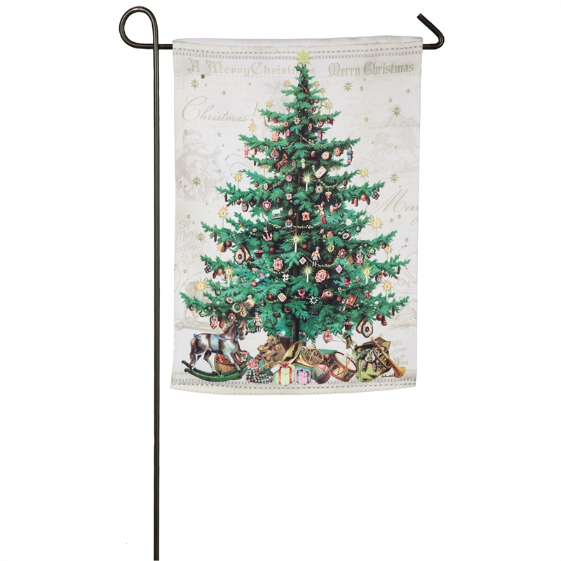 O Christmas Tree Mini Garden Banner Flag Yankee Doodle Flags More