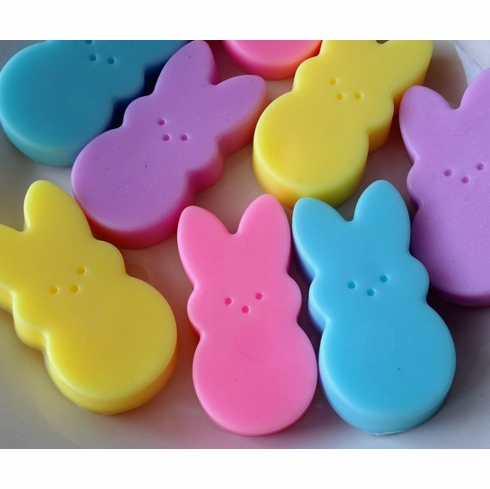 12 Easter bunny soap favors