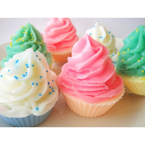 15 Soap Cupcake Party Favors