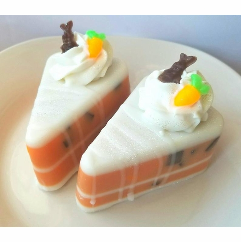 Carrot Cake Artisan Soap Slice