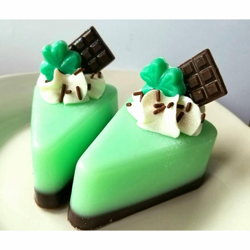 Chocolate Mint Soap Pie-St. Patrick's