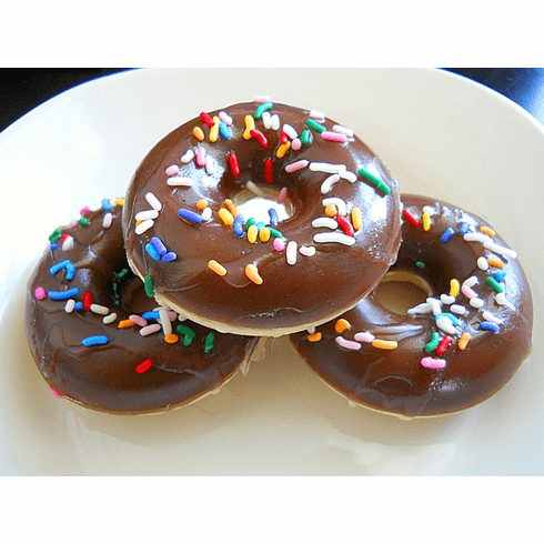 Chocolate Sprinkle Doughnut Soap