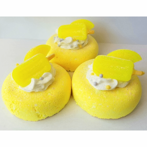 Lemon Cookies Donut Bath Bomb