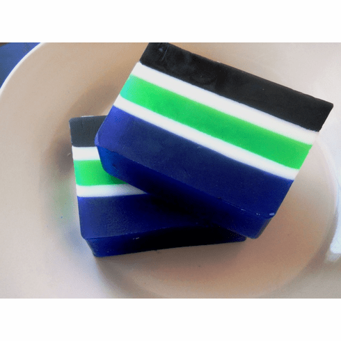 Lucky Stripes, Blue Sugar Type Men's Soap