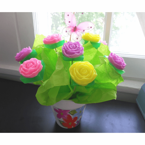 ON SALE! Hand-Crafted Soap Bouquet Gift Basket