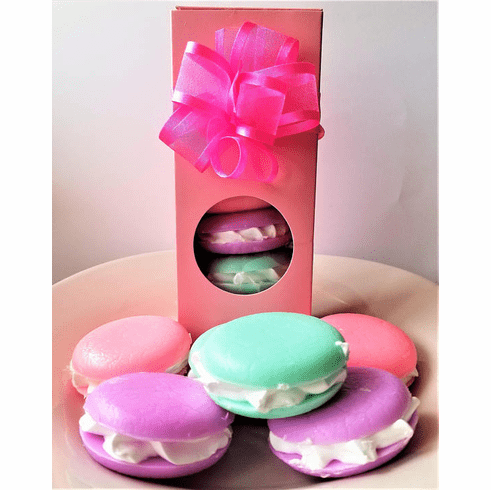 Set of 6 Macaroon Soaps