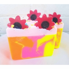 Wild Poppies Goat Milk Soap