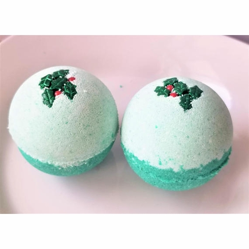 Wintry Forest Holiday Bath Bomb