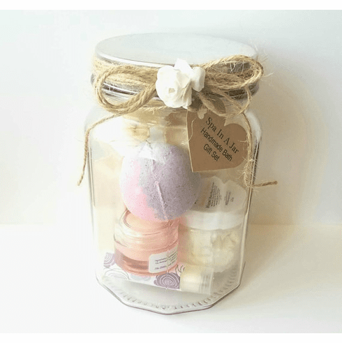 Women's Spa in a Jar Gift Set