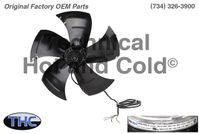 BKW B700022285 Axial Condenser Fan Motor Assembly