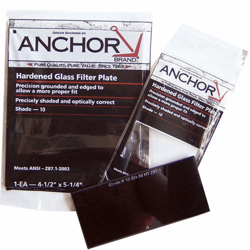 ANCHOR 2X4-1/4 #12 GLASS FILTER PLATE
