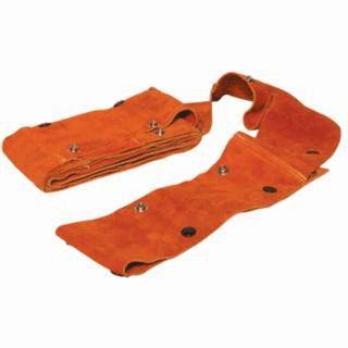 Cable Covers with Snaps, 100', MIG, Large, Leather