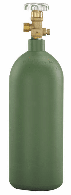 Cylinders, 20 cu ft, R20 Oxygen