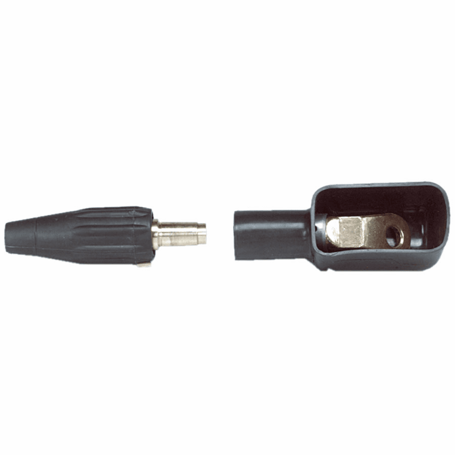 Insulated Cable Lug, Angled, Terminal Cover Connection, ULB-45 Uni-Trik