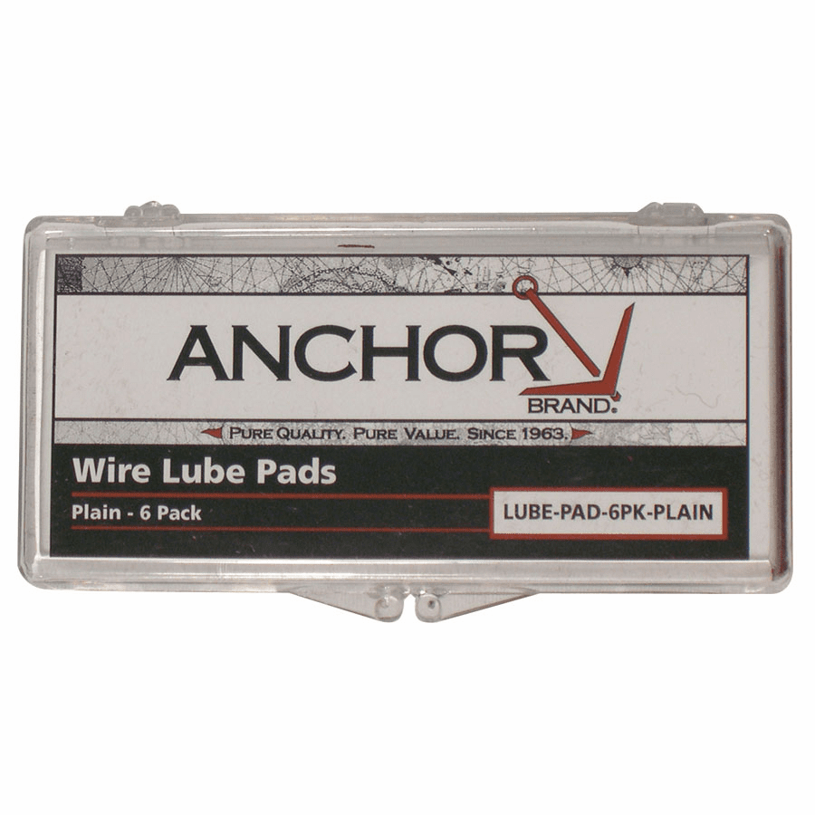 Lube Pads, Treated, 6/Box