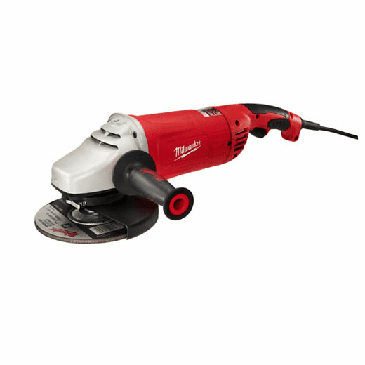 "Milwaukee 15 Amp 7""/9"" Large Angle Grinder w/ Lock-on No. 6088-30"