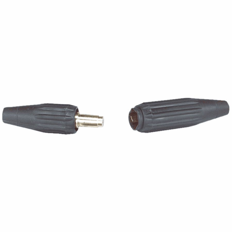 Quik-Trik Cable Connector, Single Dome-Nose Connection, 1/0-2/0 AWG Cap.