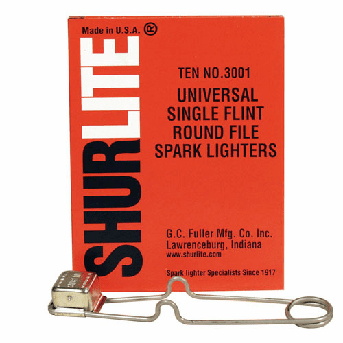 Shurlite Universal Round File Lighter No. 3001