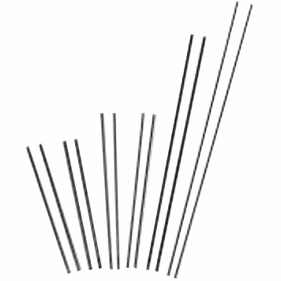"""Slice Exothermic Cutting Rods-Uncoated, 3/8"""" x 36"""", 25 each/carton"""