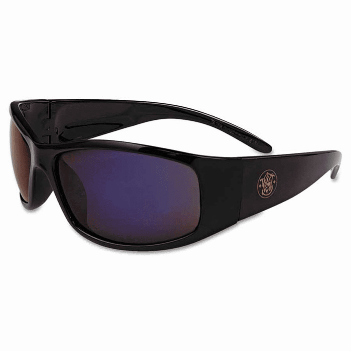 Smith & Wesson Elite Black Frame with Blue Mirror Lens No. 21307