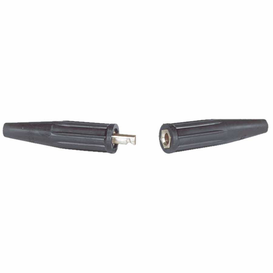 Uni-Trik Cable Connector, Double Dome-Nose Connection, 3/0-4/0 AWG Cap.