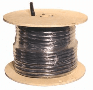 Welding Cable, 8/3 AWG, 100 ft