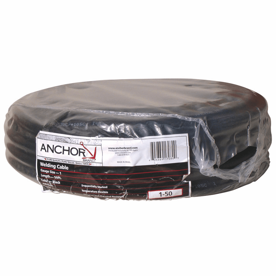 Welding Cables, 4/0 AWG, 50 ft