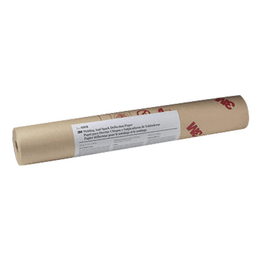 Welding/Spark Deflection Paper, 24 in X 150 ft, Flame-Retardant Paper, Brown