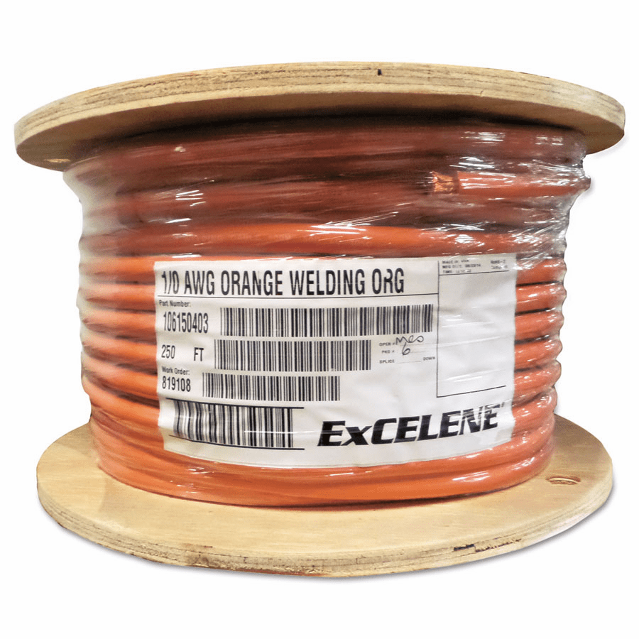"Whip Cable, 0.084"" Insulation, 1/0 AWG, 500 ft, Red"