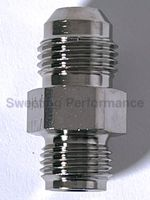 1/2 Inch Inverted Flare to 6AN Straight Power Steering Adapter