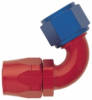 -12 120� Fixed Hose End - Aluminum