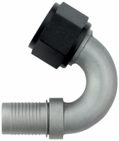 -12 150� HS-79 Hose End - Aluminum - Ti-Tech Finish
