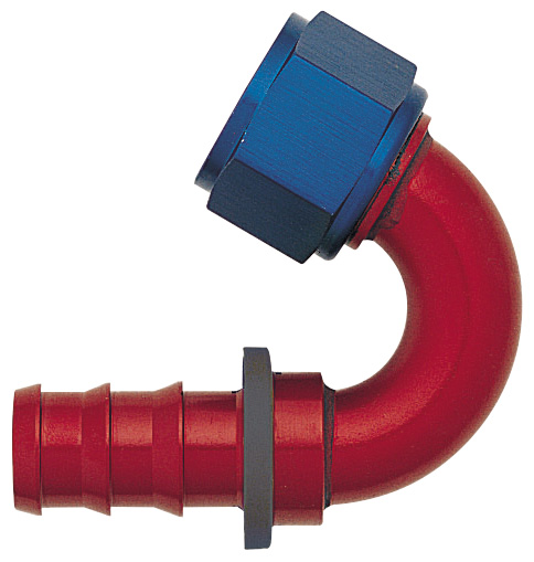 -12 150¼ Push-On Hose End - Aluminum