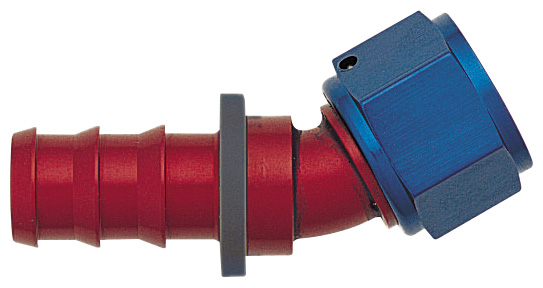 -12 30¼ Push-On Hose End - Aluminum