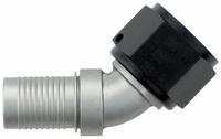 -12 45� HS-79 Hose End - Aluminum - Ti-Tech Finish
