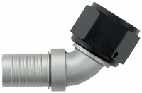 -12 60� HS-79 Hose End - Aluminum - Ti-Tech Finish