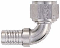 -12 90� HS-79 Hose End - Aluminum - Super Nickel Plated