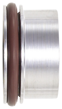 -12 Male Clamshell Socket Weld-On With Single O-Ring - Aluminum