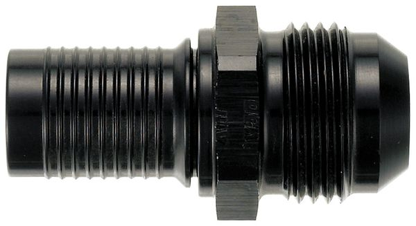 -12 Straight HS-79 Hose End to -12 Male Flare - Aluminum