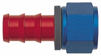 -12 Straight Push-On Hose End - Aluminum