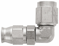-3 PTFE 90� Forged Hose End - Steel