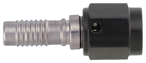 -4 Straight HS-79 Hose End to -3 Nut - Steel