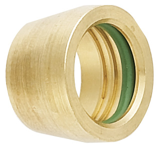 -6 Brass Sleeves for Air Conditioning Hose Ends (6 Pcs.)