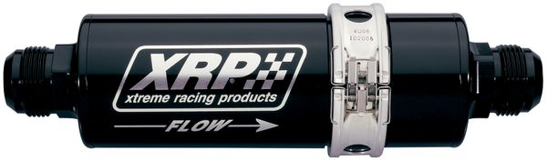 72 Series In-Line Oil Filter With Quick Disconnect Body, -36 Clamshell Without Strap and -12 AN Inlet & Outlet