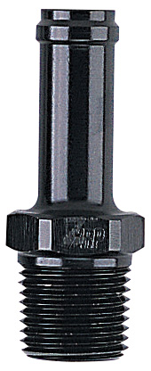 """850 Series Adapter, 3/8 Pipe to Tube Straight, Fits -8 SS Hose - 7/16"""" ID - Aluminum"""