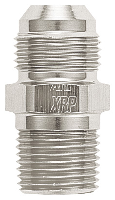 Adapter, -12 Flare to 3/4 NPT - Aluminum - Super Nickel Plated