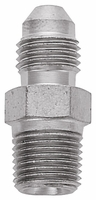 Adapter, -3 Flare to 1/8 NPT - Steel