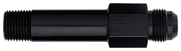 Extended Oil Inlet, Male -12 Flare to 1/2 NPT - Long - Aluminum