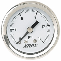 Fuel Pressure Gauge 0-15 Lbs., Liquid Filled