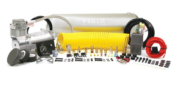 Heavy Duty Air Tank and Compressor Kit for Air-Hydraulic Brake System